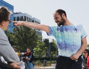 Jeremy Martinez danse en gros plan