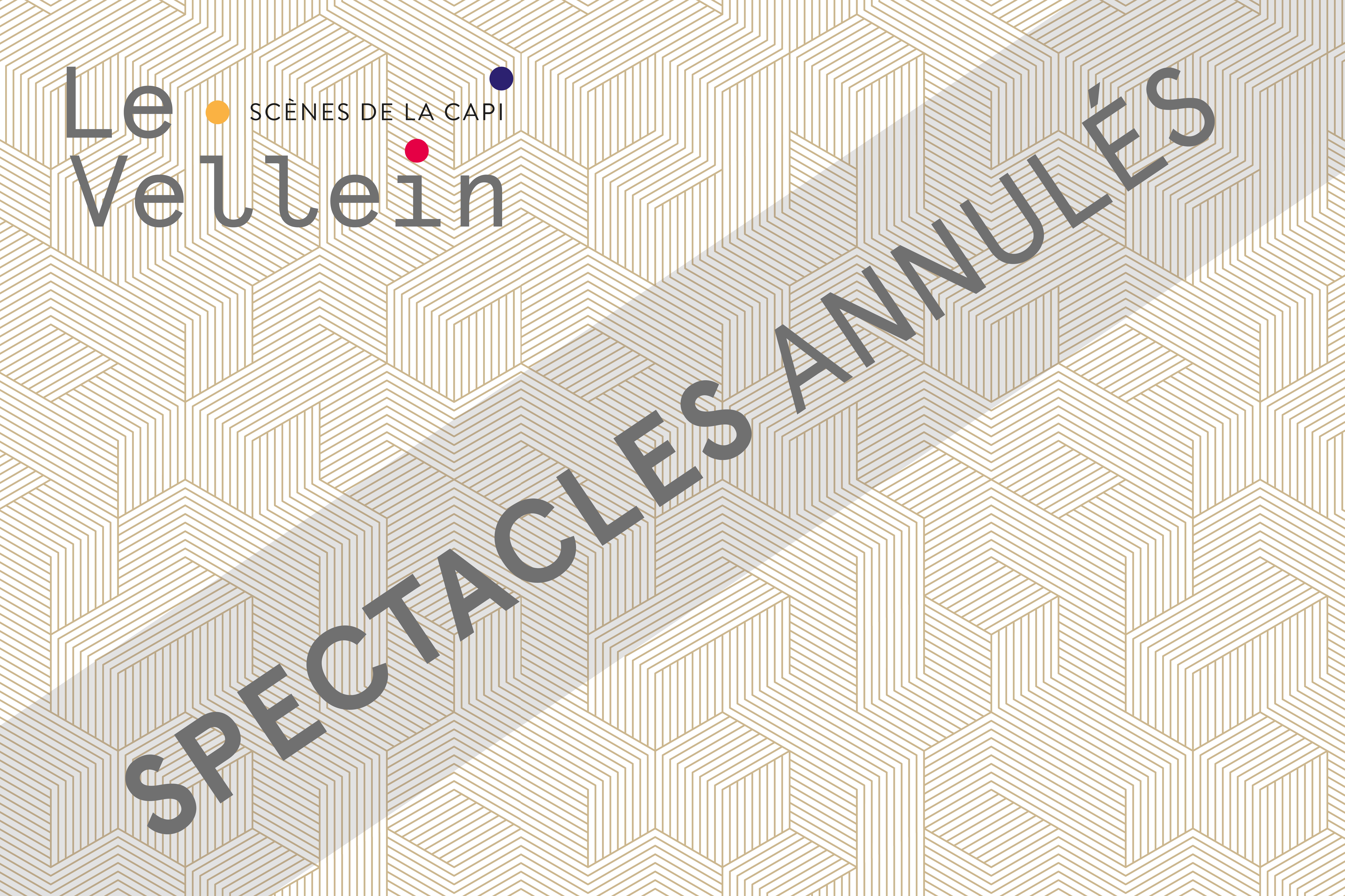 Annulation spectacles d'avril